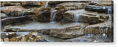 Ripples Of Water Panoramic Acrylic Print