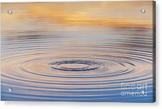Ripples On A Still Pond Acrylic Print