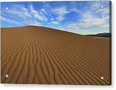 Ripples On The Dunes Acrylic Print