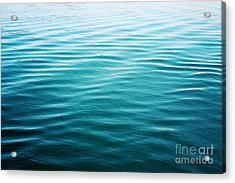 Acrylic Print featuring the photograph Ripples by Sylvia Cook