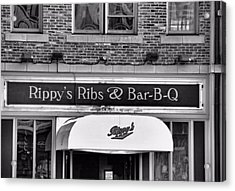 Rippy's Ribs And Bar Bq Acrylic Print by Dan Sproul