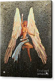 Rise Above Acrylic Print by James Pizzimenti