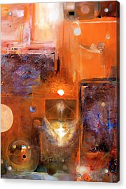 Acrylic Print featuring the painting Rise And Shine 1 by Brooks Garten Hauschild