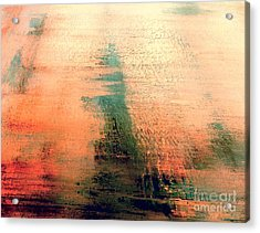 Acrylic Print featuring the painting Rise by Jacqueline McReynolds