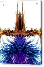 Rising Above Acrylic Print by Kruti Shah