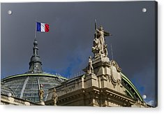 Rising Above The Grand Palais Acrylic Print by Tim Stanley