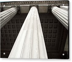 Rising Columns Acrylic Print by David Rosenthal