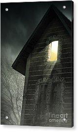 Rising Fog Acrylic Print by Carlos Caetano