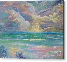 Rising Sea Acrylic Print
