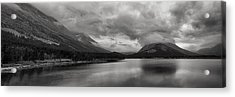 Rising Storm Clouds Acrylic Print by Andrew Soundarajan