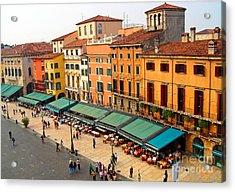 Ristorante Olivo Sas Piazza Bra Acrylic Print