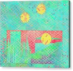 Rita's Meadow Acrylic Print