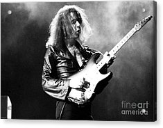 Riitchie Blackmore 1973 Deep Purple Acrylic Print by Chris Walter