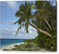 Ritidian Beach In Guam Acrylic Print