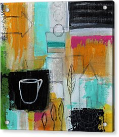Rituals- Contemporary Abstract Painting Acrylic Print by Linda Woods