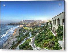 Ritz-carlton Laguna Niguel Ocean View Acrylic Print by David Zanzinger