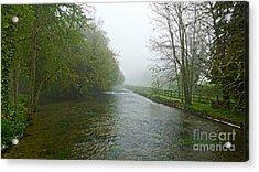 River Anton Acrylic Print