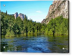 Yosemite National Park Acrylic Print by Menachem Ganon