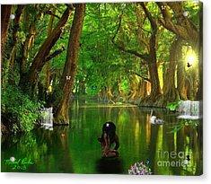 River Beauty Acrylic Print by Michael Rucker