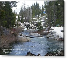 Acrylic Print featuring the photograph River Bend  by Bobbee Rickard