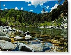 River Bottom Acrylic Print