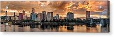 River City Acrylic Print