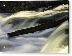 River Contours Acrylic Print
