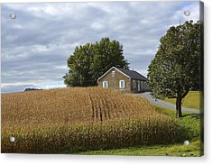 River Corner Mennonite Church Acrylic Print