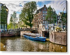 Acrylic Print featuring the photograph River Cruise by Brent Durken