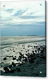River Dee Estuary Acrylic Print by Dr Rob Stepney/science Photo Library