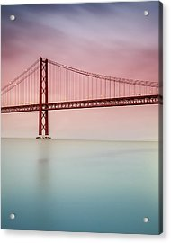 River Hues Acrylic Print by Landscape Photography