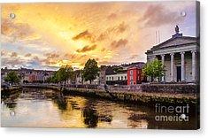 River Lee In Cork Acrylic Print