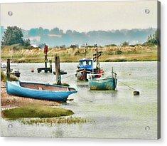 River Life Acrylic Print by Sharon Lisa Clarke