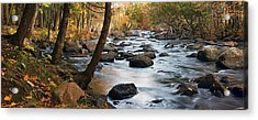River Majesty Panorama Acrylic Print
