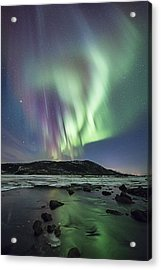 River Meet The Sea Acrylic Print by Frank Olsen