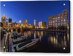 River Nights Acrylic Print