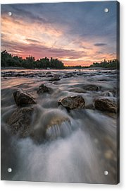 River Of Dreams Acrylic Print by Davorin Mance