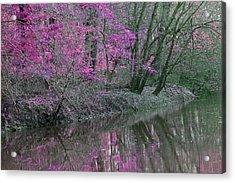 River Of Pastel Acrylic Print