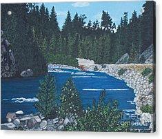 River Of Peace -1 Acrylic Print
