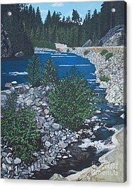 River Of Peace Acrylic Print