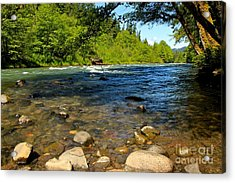 River Of Song  Acrylic Print by Tim Rice