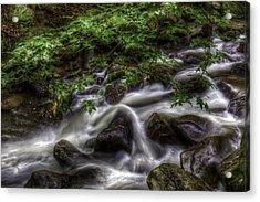River On The Rocks II Acrylic Print