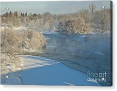 Acrylic Print featuring the photograph River Pastorale I by Jessie Parker