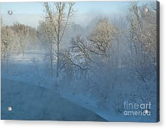Acrylic Print featuring the photograph River Pastorale II by Jessie Parker