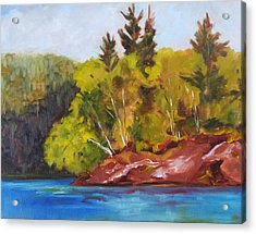 River Point Acrylic Print