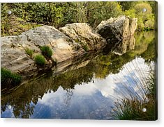 River Reflections IIi Acrylic Print by Marco Oliveira