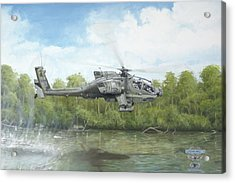 River Route Acrylic Print by Joshua Donaldson