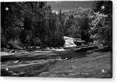 Acrylic Print featuring the photograph River Run by David Stine