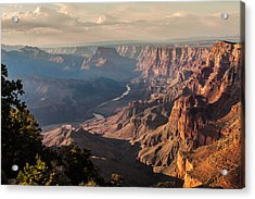 River Through Grand Canyon Acrylic Print
