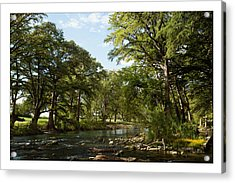 Acrylic Print featuring the photograph River Time by Sharon Jones